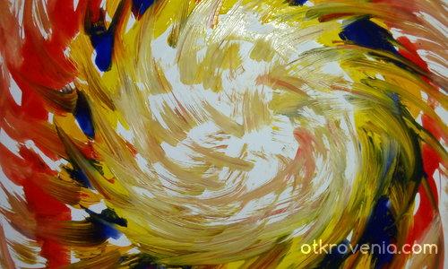 Торсионно поле в момент на съдбоносно ускорение
