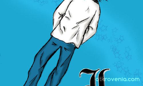 Справедливостта ще възтържествува! - Death Note anime (L/Ryuuzaki)