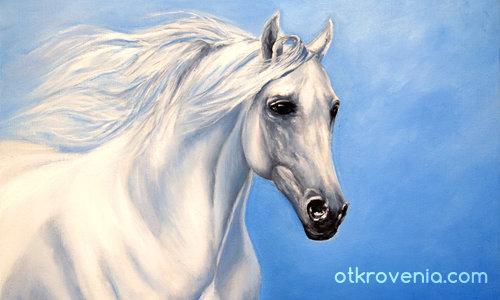 Като бели коне препускат мечтите ми...