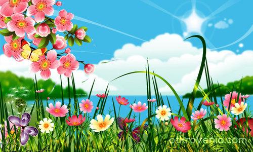 Пролетна картинка