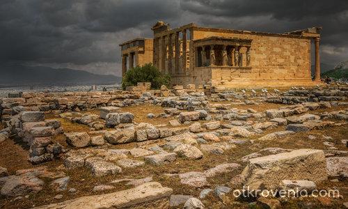 The Erechtheum (421 - 406 BC)