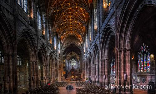 Chester Cathedral (цял екран, моля)