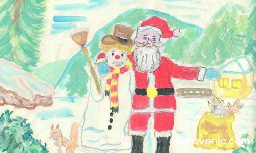 Духът на Коледа(детска му работа)