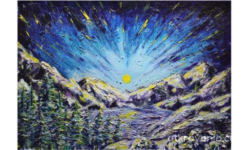 Падащи звезди над планината