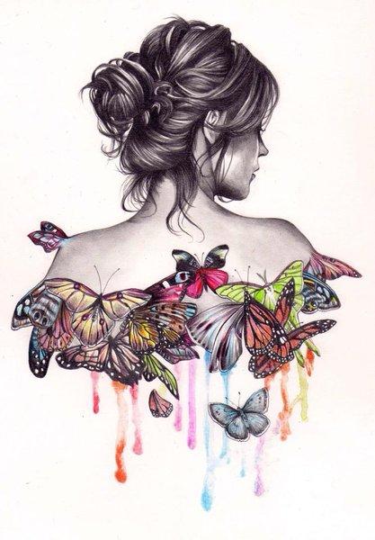 Oт тялото ми всяка пеперуда