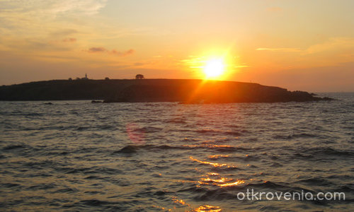 Залез над Созопол
