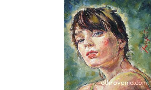 портрет на жена