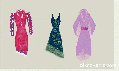 Модни скици 9