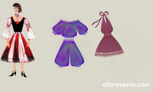 Модни скици 1