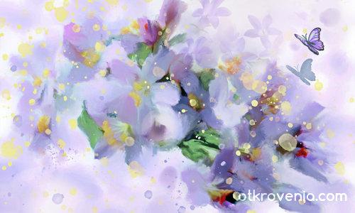Раждането на цветята