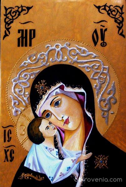 Пресвета Богородица  и Иисус