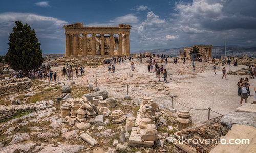 The Parthenon - Атински Акропол, Гърция