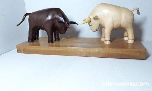 Черният и белият бик
