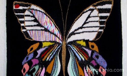 ''Кой оцветява крилата на пеперудите?''