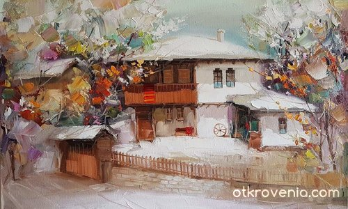 Зима в Боженци