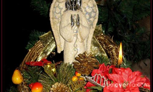 Коледен ангел - III място на Трети Коледен Творчески Фестивал